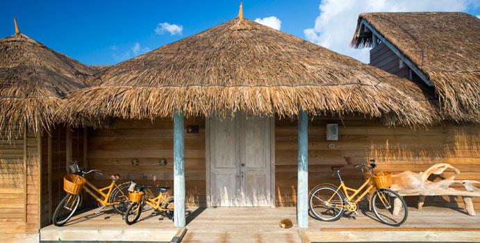 Eingang Villa Suite, Gili Lankanfushi