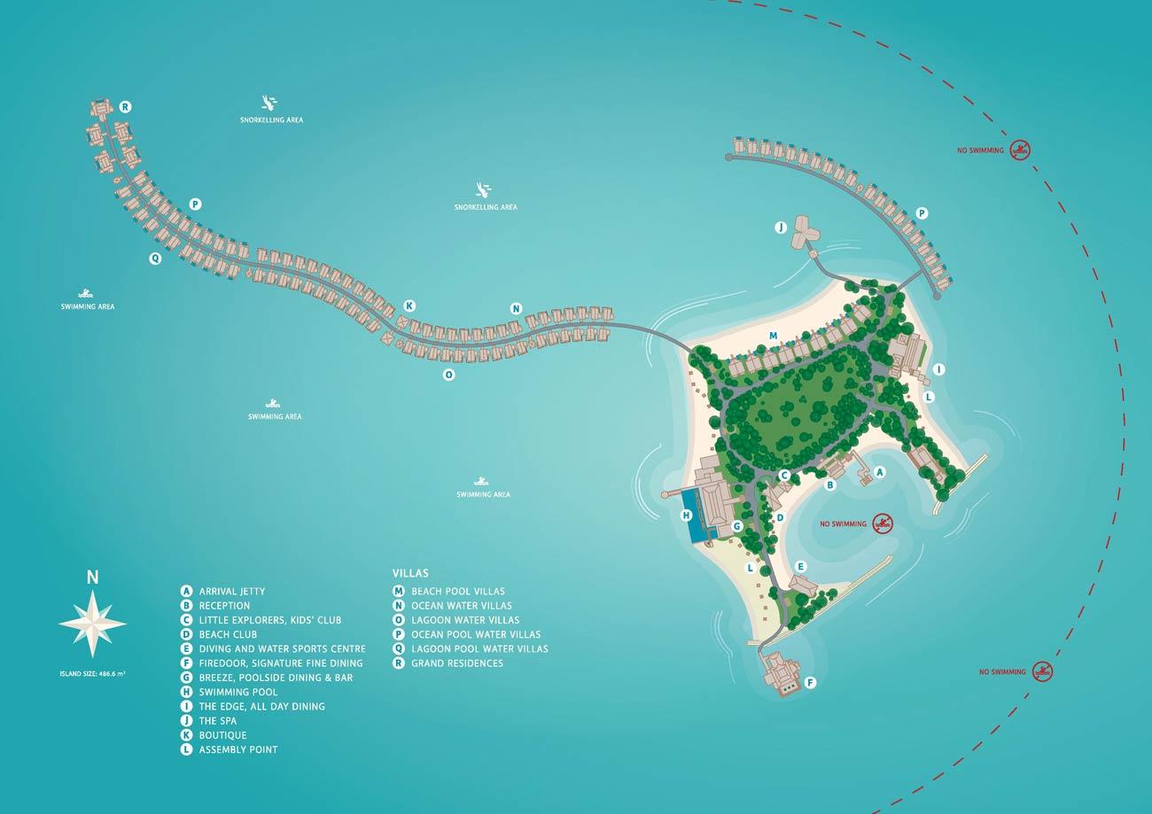 Lageplan Grand Park Kodhipparu