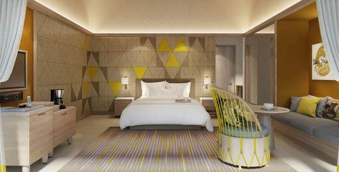 Wohnen, Platinum Overwater Villa, Hard Rock Hotel Maldives