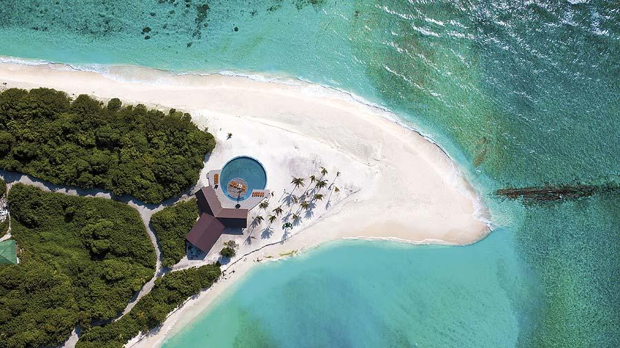 Sandzunge Pool, Hondaafushi Island Resort