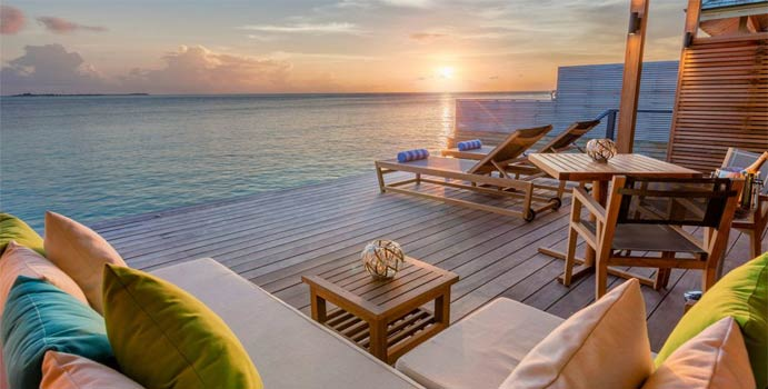 Ocean Sunset Villa, Hurawalhi Island Resort