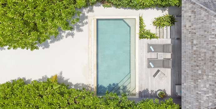 Beach Pool Villa, Hurawalhi Island Resort