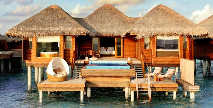 Ocean Bungalow with Pool, Huvafen Fushi Maldives