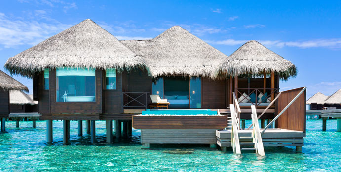 Lagoon Bungalow with Pool, Huvafen Fushi Maldives