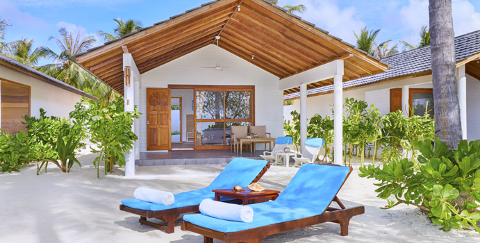 Beach Bungalow, Innahura Maldives Resort