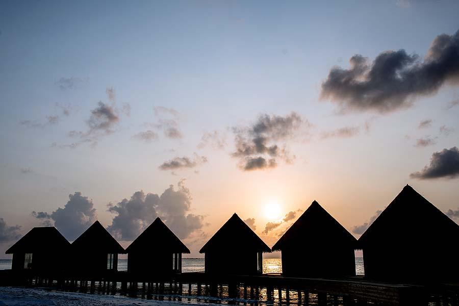 sunset, InterContinental Maldives