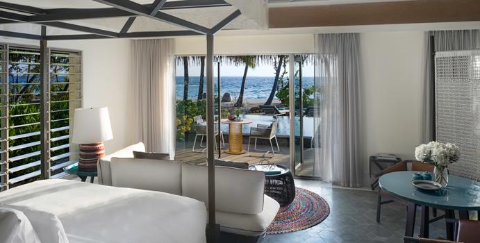 Wohnen, Beach Pool Villa, InterContinental Maldives Maamunagau Resort