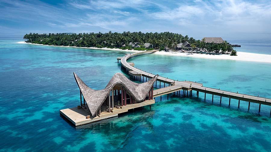 Ankunft, JOALI Maldives