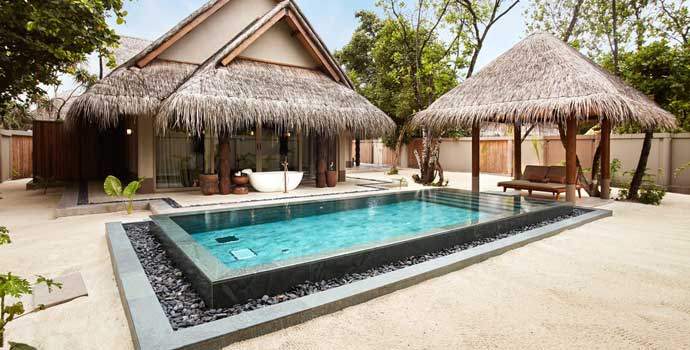 Family Beach Villa with Two Pools| Joali Maldives