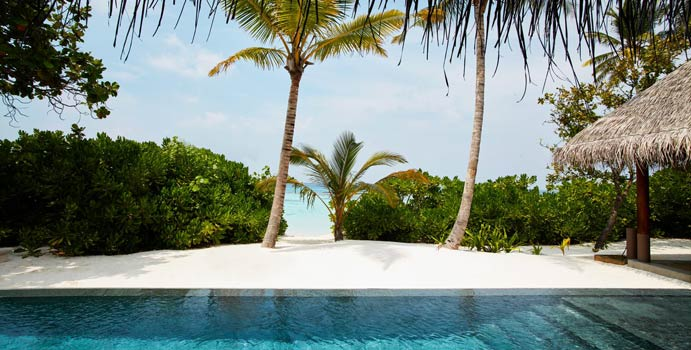 Pool, Luxury Beach Villa with Pool, JOALI Maldives