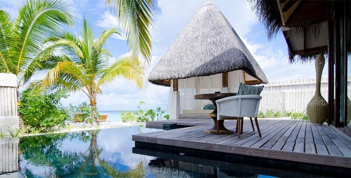 Beach Villa with Pool Sunset, Jumeirah Vittaveli