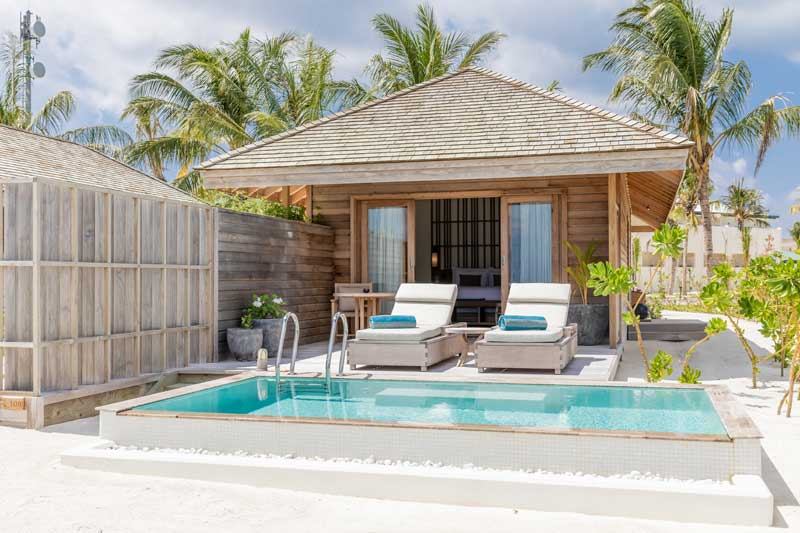 Beach Pool Villa, Kagi Maldives SPA Island