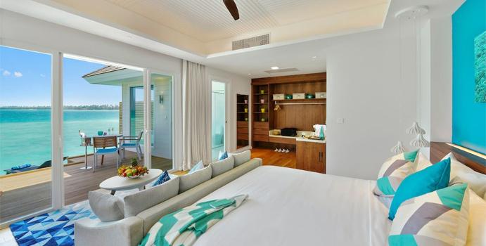 Wohnen, Aqua Villa, Kandima Maldives