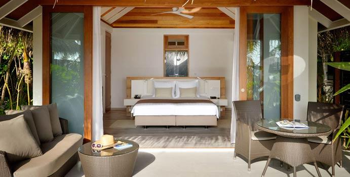 Wohnen, Beach Villa, Kandolhu Maldives