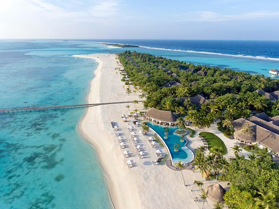 Luftaufnahme, Drohnenaufnahme I Kanuhura Maldives