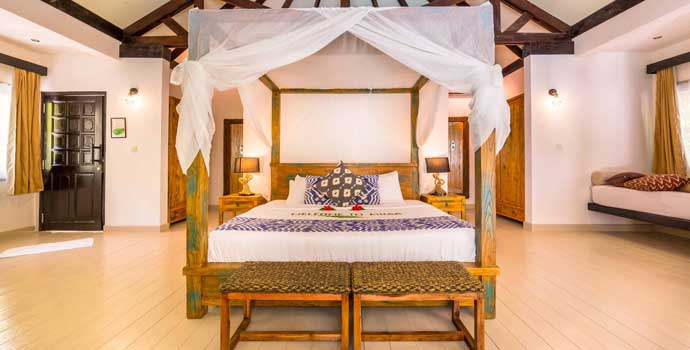 Beach Villa, Kihaa Maldives