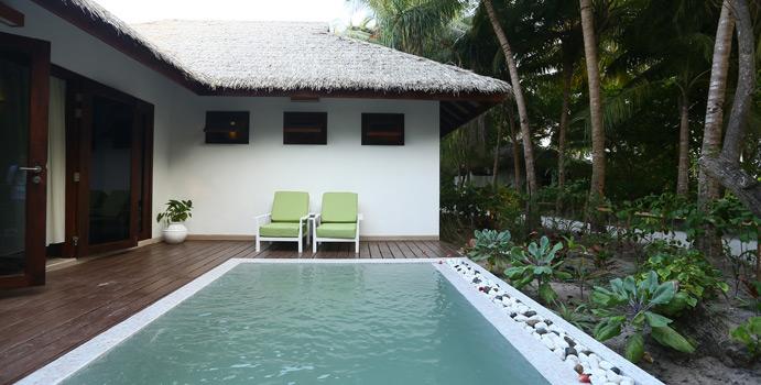 Garden Villa mit Pool, Kihaa Maldives