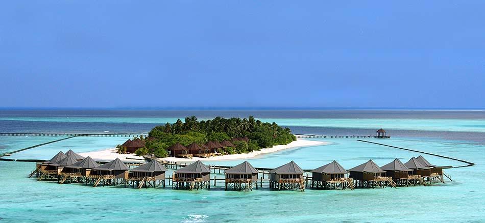 Wasserbungalows, Komandoo Island Resort, Maldives