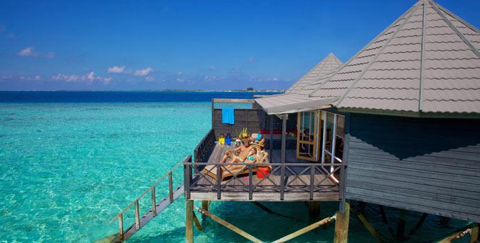 Jacuzzi Water Villa, Komandoo Island Resort
