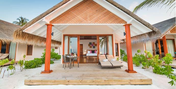 Beach Villa, Kudafushi Resort & Spa