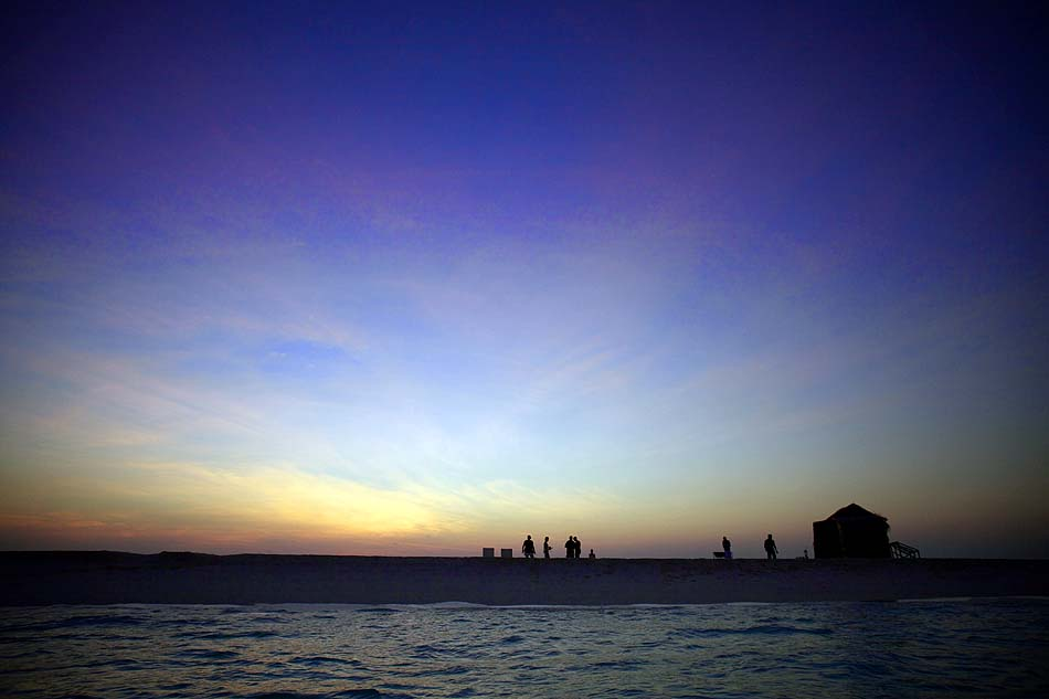 Der Strand am Abend, Kuredu Island Resort, Maldives