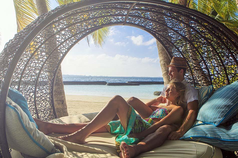 Im Urlaub die Seele baumeln lassen, Kurumba, Malediven
