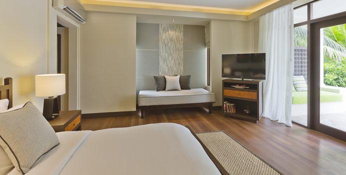 Wohnen im Superior Room, Kurumba Maldives