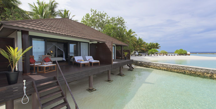 Lagoon Villa, Lily Beach Resort & SPA