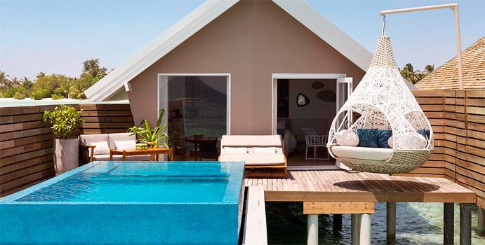 Romantic Pool Water Villa, LUX South Ari Atoll