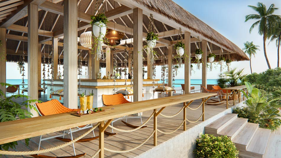 Horizon Bar, JW Marriott Maldives Resort & Spa