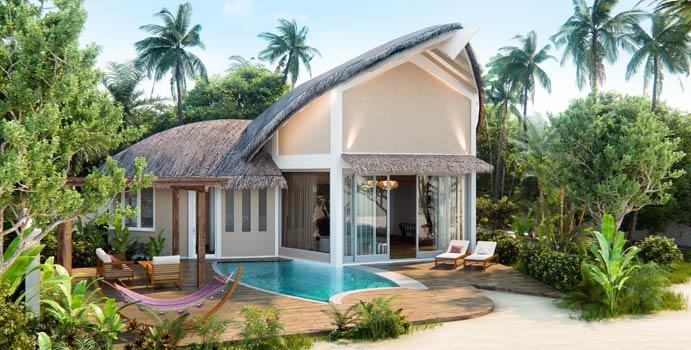 Beach Pool Villa, JW Marriott Maldives Resort & Spa