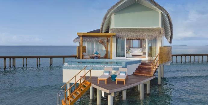 Overwater Pool Villa, JW Marriott Maldives