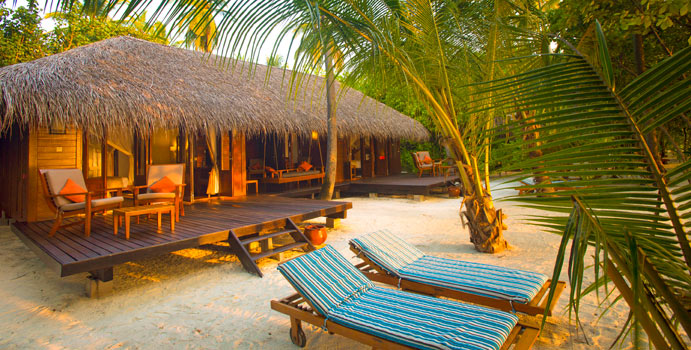 Beach Villa Suite, Medhufushi Island Resort