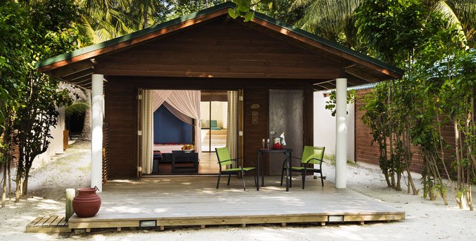 Jacuzzi Beach Villas, Meeru Island Resort