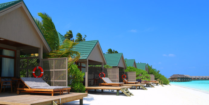 Water Front Villas, Meeru Island Resort