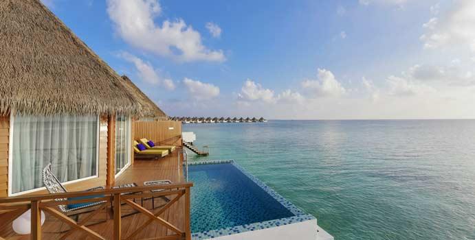 Over Water Sunset Pool Villa, Mercure Maldives Kooddoo Resort