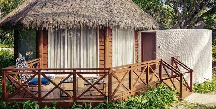Beach Villa, Mercure Maldives Kooddoo Resort
