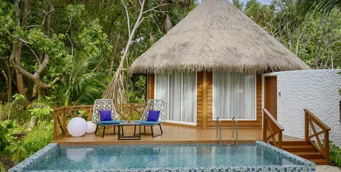 Beach Pool Villa, Mercure Maldives Kooddoo Resort