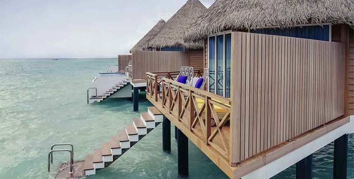 Over Water Sunset Villa, Mercure Maldives Kooddoo Resort