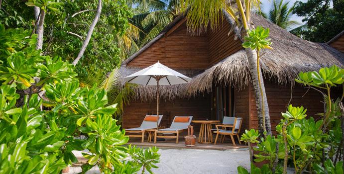 Beach Villa, Mirihi Island Resort