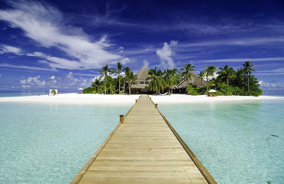 Ankunftssteg, Arrival Jetty, Mirihi Island Resort, Malediven
