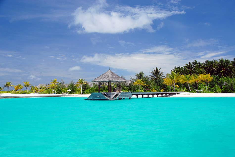 Ankunft im Naladhu Private Island Maldives