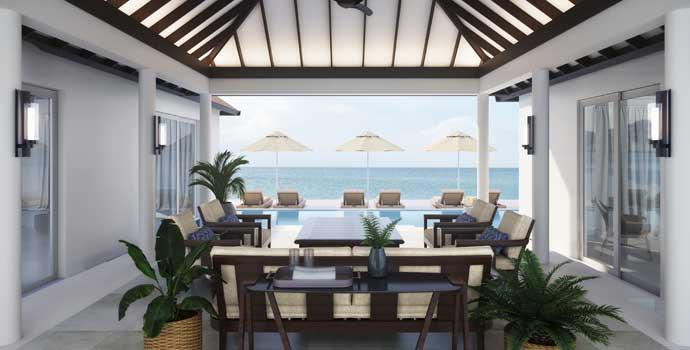 Two Bedroom Pool Residence, Naladhu Private Island Maldives