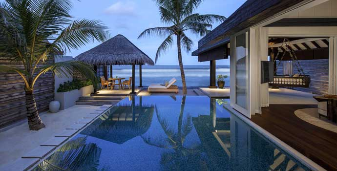 Ocean House with Pool, Naladhu Private Island Maldives