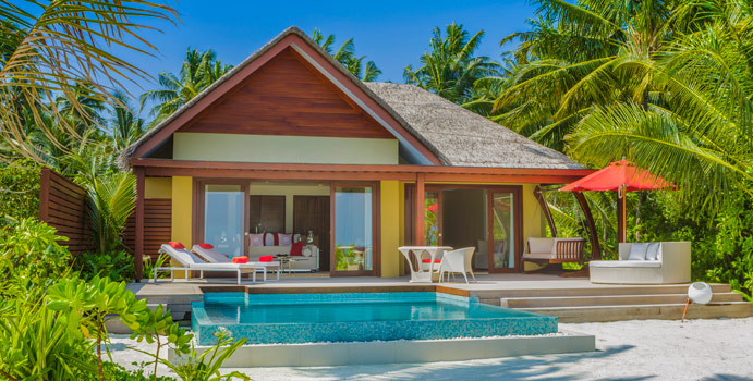 Family Beach Pool Villa, Niyama Private Islands Maldives