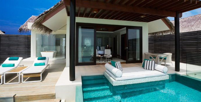 Water Studio mit Pool, Niyama Private Islands Maldives