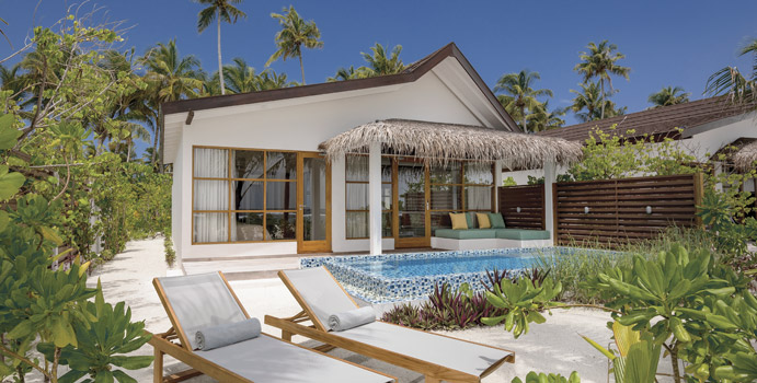 Beach Family Suite with Pool, OBLU SELECT at Sangeli Maldives