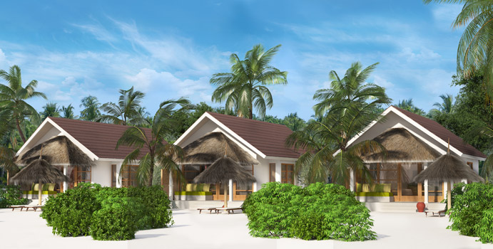 Beach Villa, OBLU SELECT at Sangeli Maldives