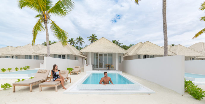 Grand Beach Villa with Pool, Olhuveli Beach & SPA Resort