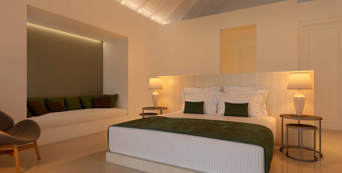 Schlafen, Grand Deluxe Room, Olhuveli Beach & SPA Resort